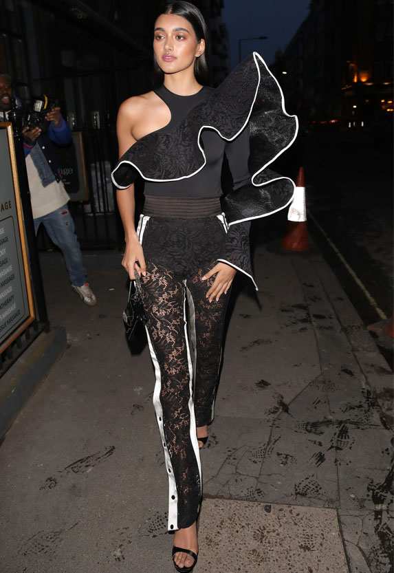 Neelam Gill attending the Vogue Cocktail reception