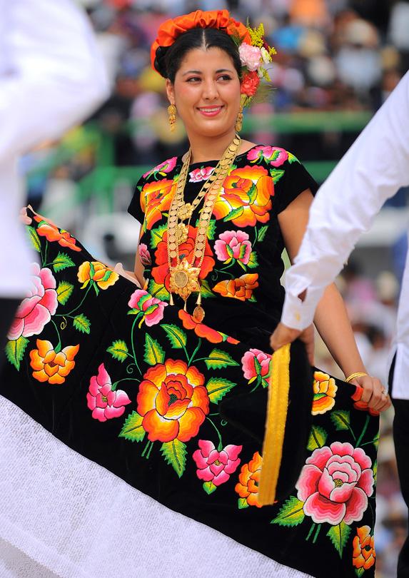 Dancer in Oaxaca, Mexico