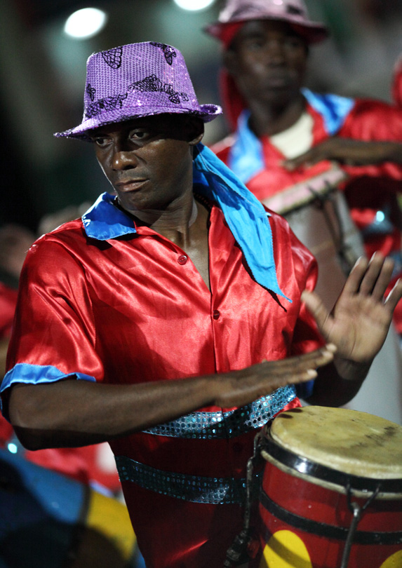 Drummer in Santiago de Cuba, Cuba