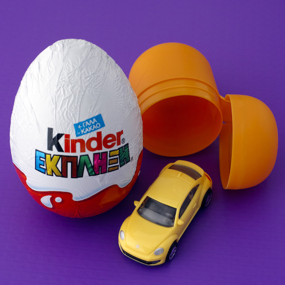 Kinder Surprise egg and toy