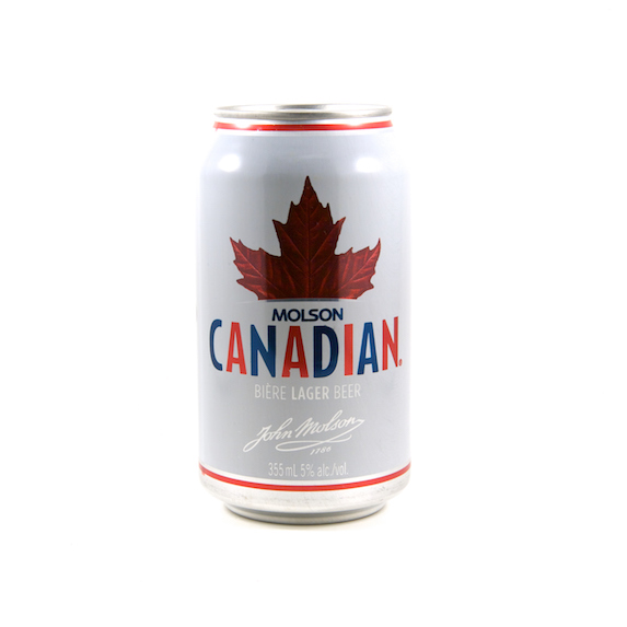 Can of Molson Canadian