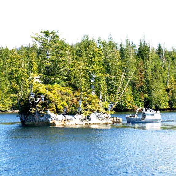 Turret Rock/Tremble Island, British Columbia