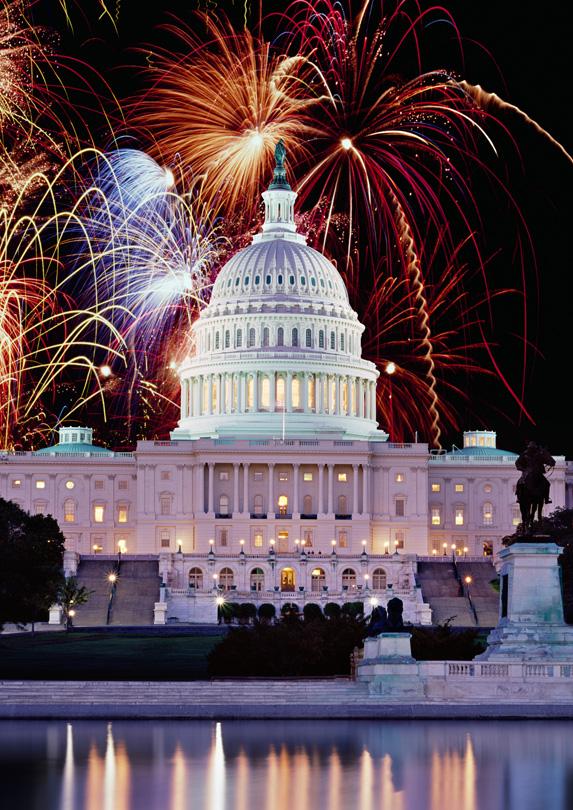 Fireworks in Washington, D.C.