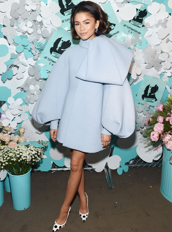 Zendaya at Tiffany and Co event
