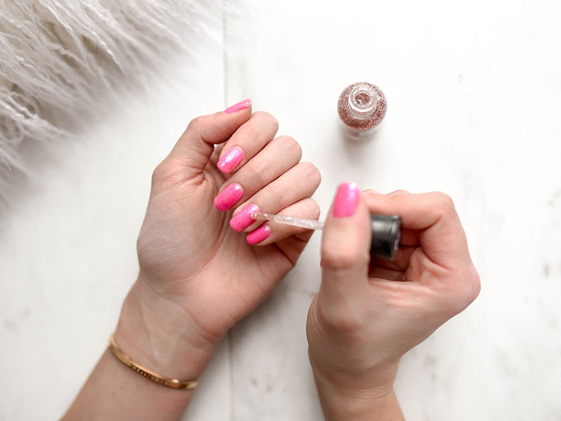 How to Fix a Smudged Manicure