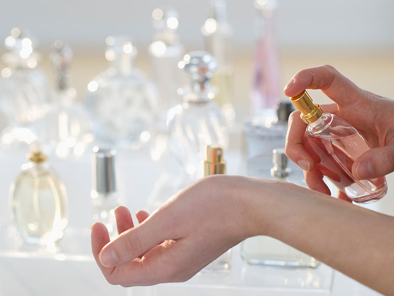 How to Fix Too Much Perfume