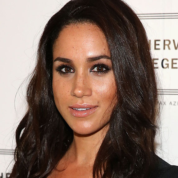 meghan markle looking bronzed and glowy