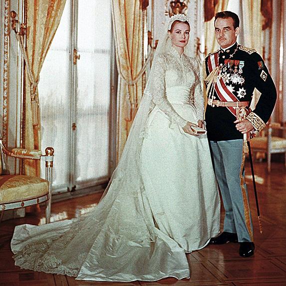 Princess Grace and Prince Rainier III
