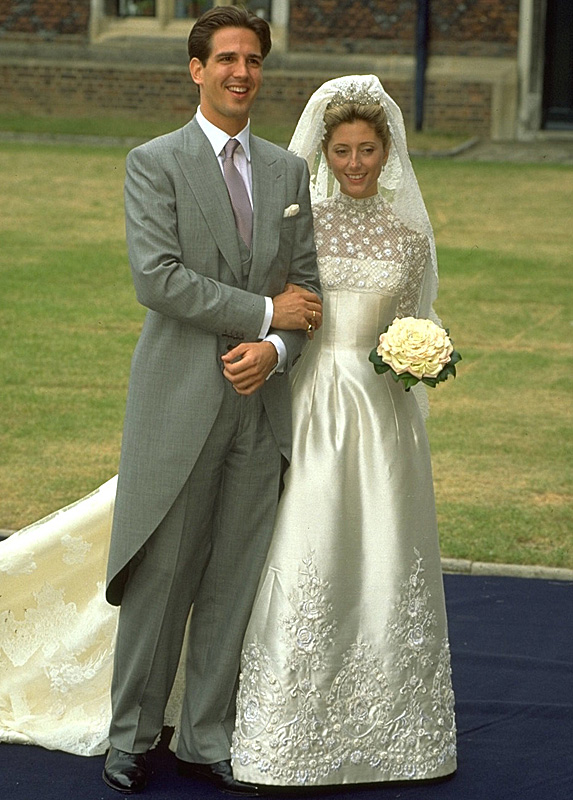 Prince Pavlos and Princess Marie-Chantal