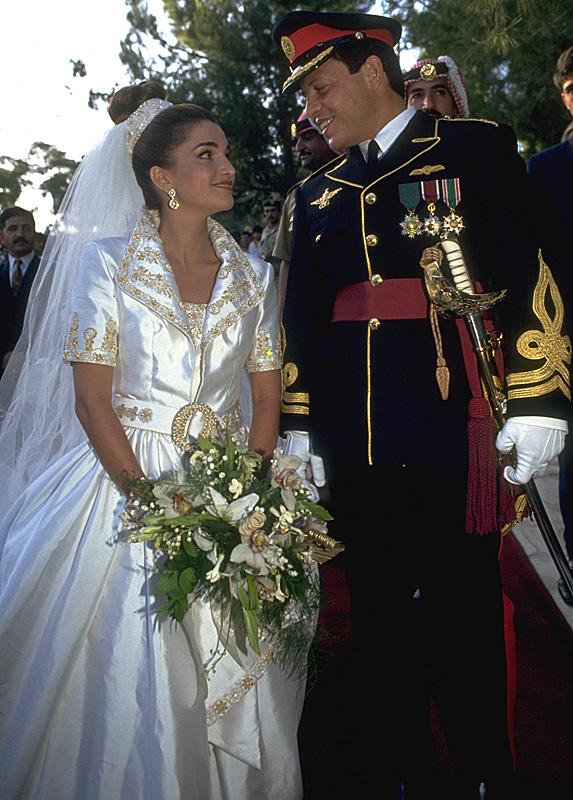Queen Rania and King Abdullah II