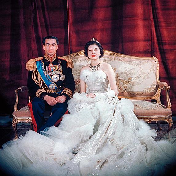 Shah Mohammad Reza Pahlavi and Queen Soraya