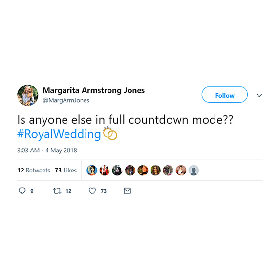 Countdown for the royal wedding is on