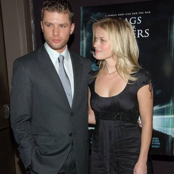 Ryan Phillippe and Reese Witherspoon when they were together