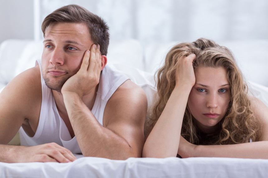 Marriage with unhappy sex life