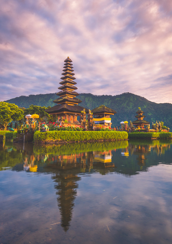 Temple in Bali, Indonesia
