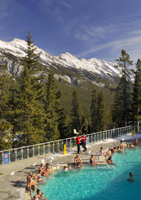 Banff Upper Hot Springs, Alberta