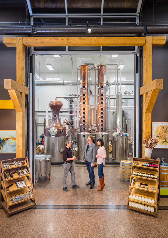 Black Fox Farm & Distillery, Saskatoon, Saskatchewan