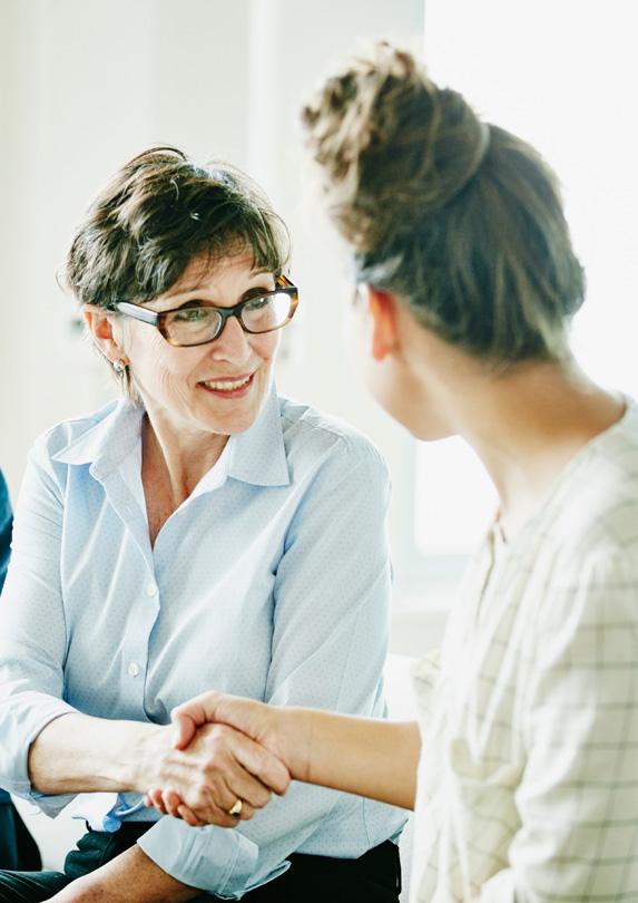 Woman Mentoring