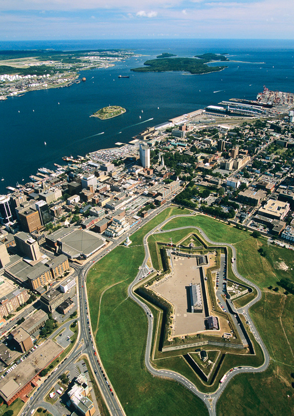 Aerial view of Halifax