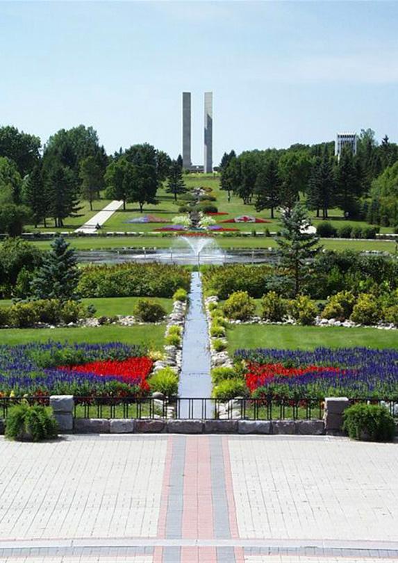 International Peace Garden, Manitoba