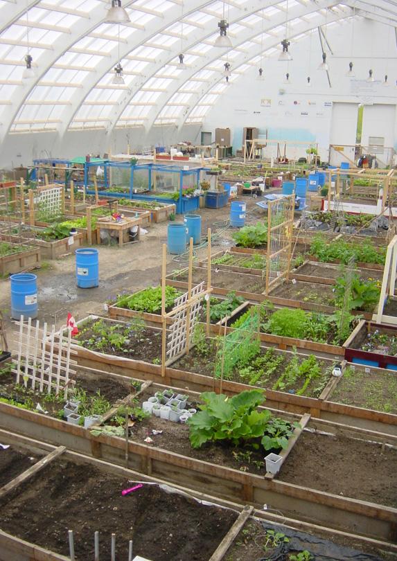 Inuvik Community Greenhouse, Inuvik, Northwest Territories