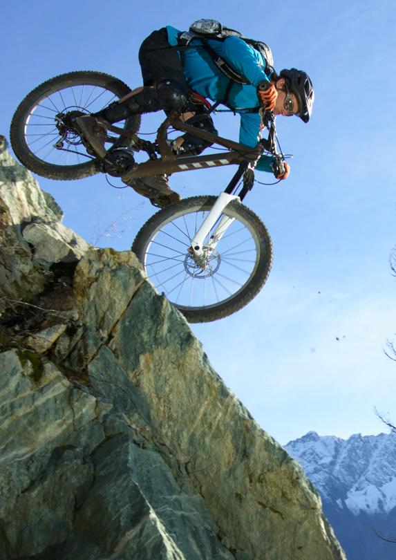 Mountain biking in Kamloops, British Columbia