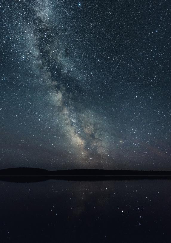 Night sky at Kejimkujik National Park, Nova Scotia