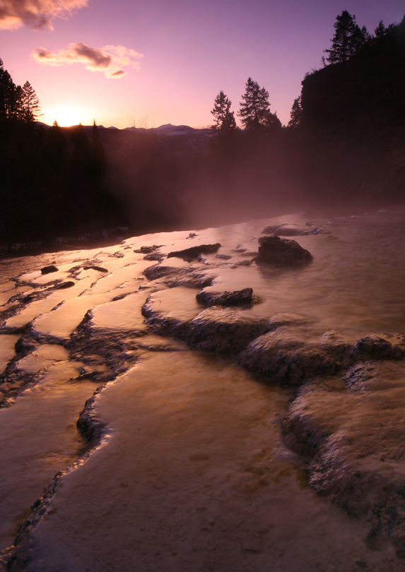 Lussier Hot Springs, British Columbia