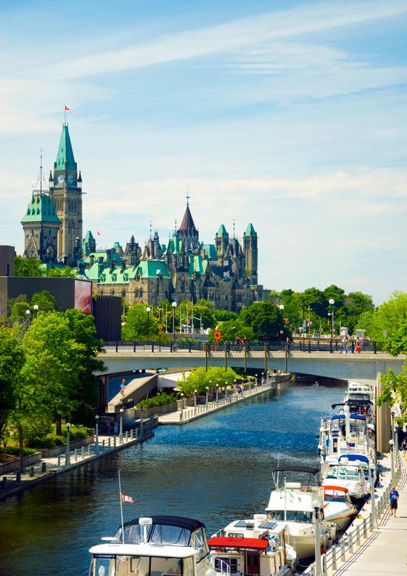 Ottawa in summer