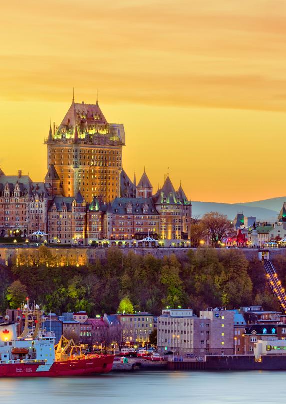 Skyline of Quebec City, Quebec