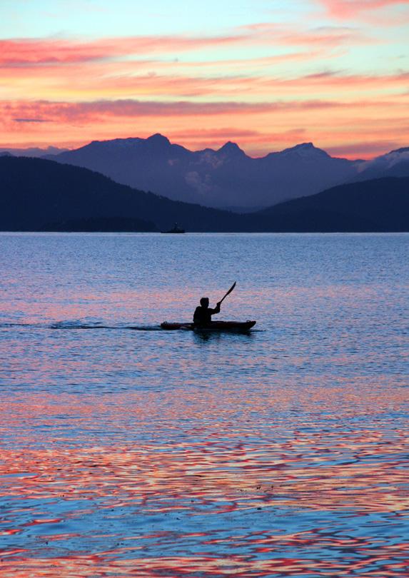 Kayaking in Vancouver, BC