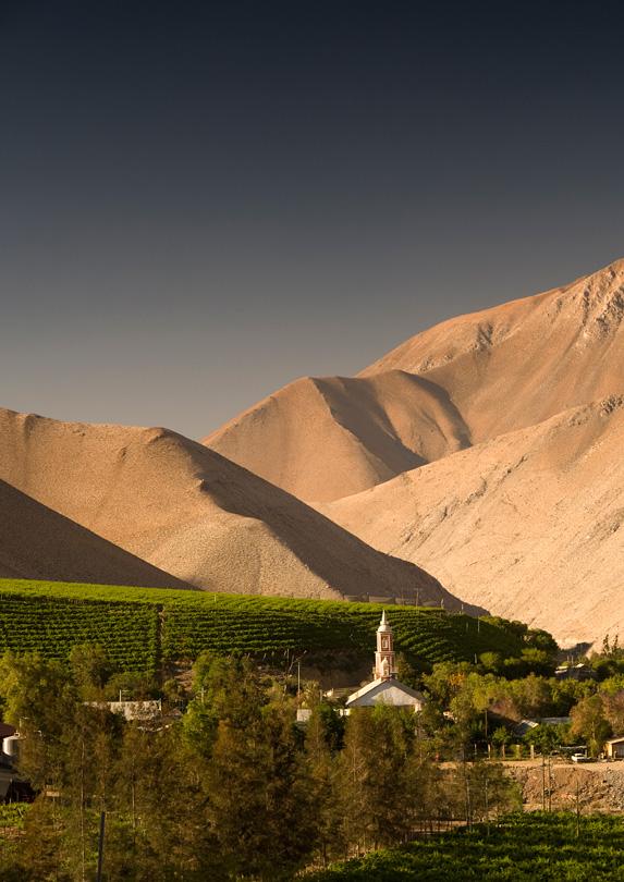 Winelands, Chile