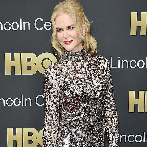 Nicole Kidman posing on the red carpet