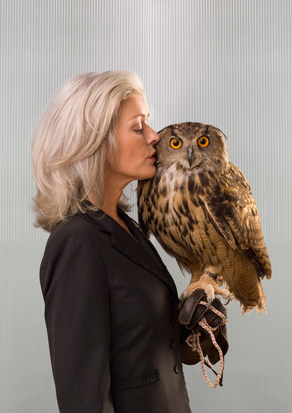 Lawyer with an owl