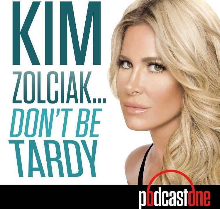 Kim Zolciak started a podcast