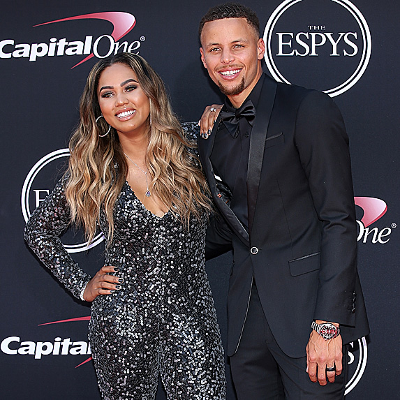 Ayesha and Steph Curry at Espys