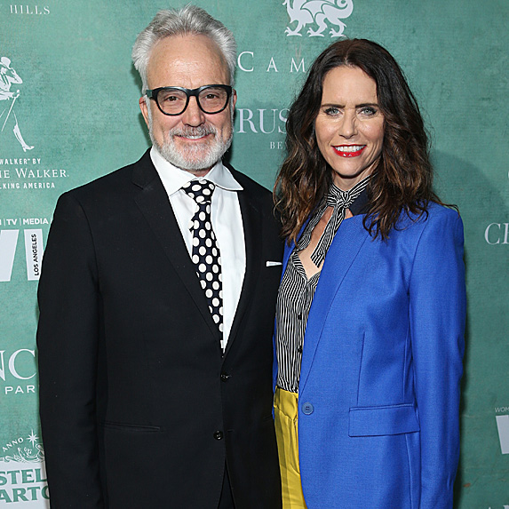 Bradley Whitford and Amy Landecker engaged