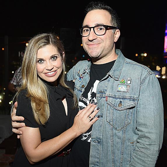 Danielle Fishel and Jensen Karp engaged