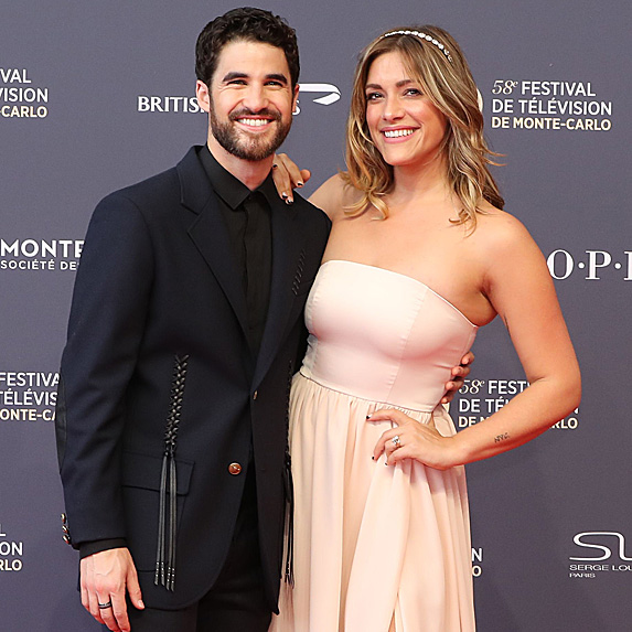 Darren Criss and Mia Swier engaged