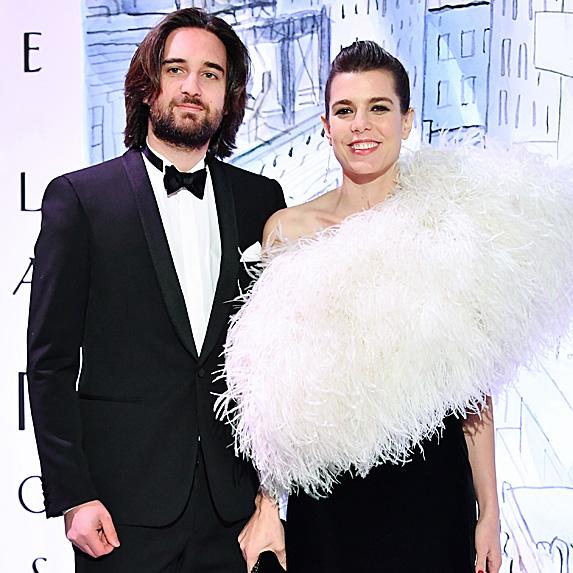Dimitri Rassam and Charlotte Casiraghi engaged
