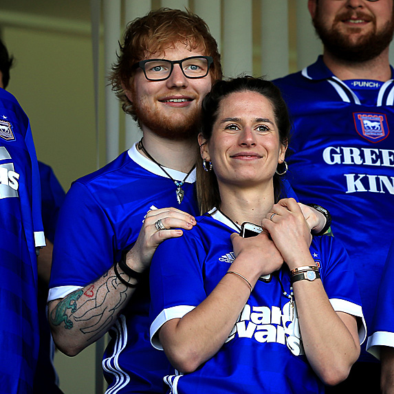 Ed Sheeran and Cherry Seaborn engaged