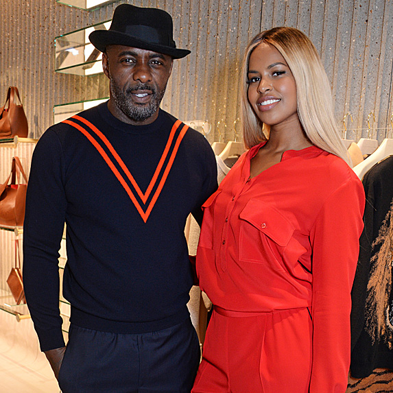 Idris Elba and Sabrina Dhowre engaged