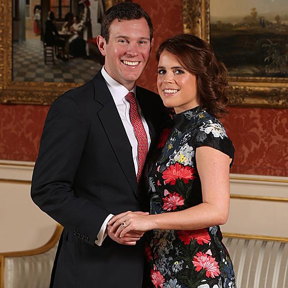 Jack Brooksbank and Princess Eugenie engaged