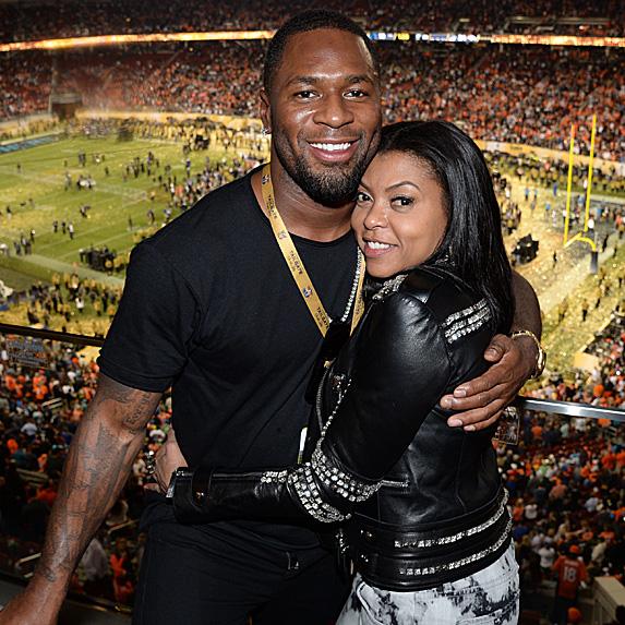 Kelvin Hayden and Taraji P. Henson engaged