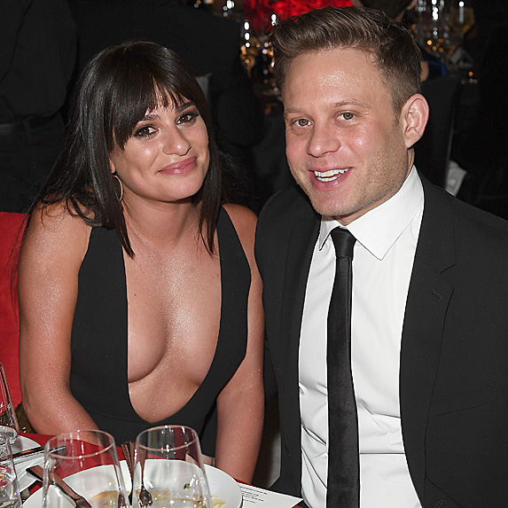 Lea Michele and Zandy Reich engaged