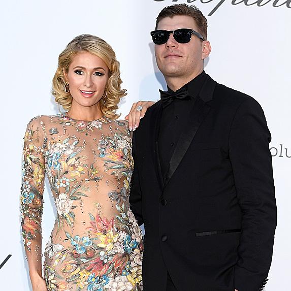 Paris Hilton and Chris Zylka engaged