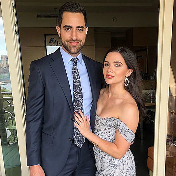 Paul DiGiovanni and Katie Stevens engaged