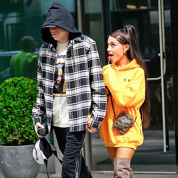 Pete Davidson and Ariana Grande engaged