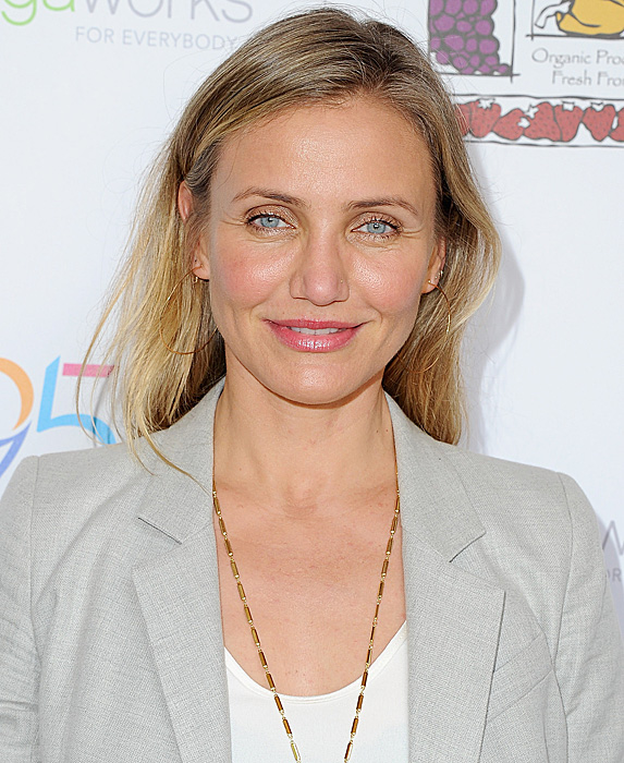 Cameron Diaz at book launch party