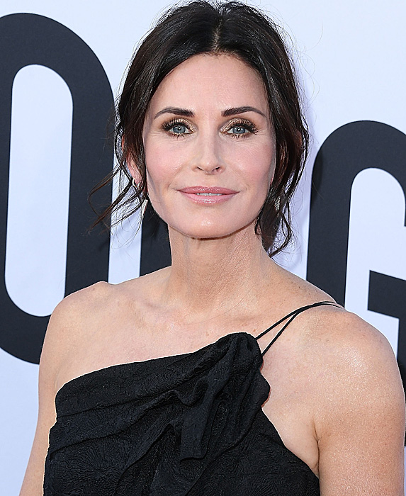 Courteney Cox at George Clooney tribute